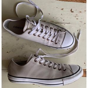 Converse Chuck Taylor All Star Lo Leather Shoes
